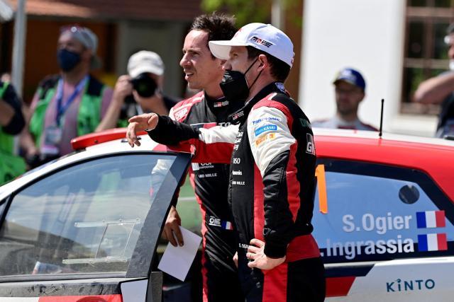 Une amende et une suspension avec sursis pour Sébastien Ogier après son accident de la route au Rallye de Croatie