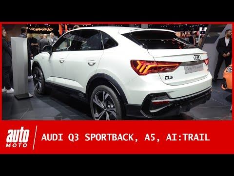 Salon de Francfort 2019 : les nouveautés Audi (Q3 Sportback, A5, AI:TRAIL)