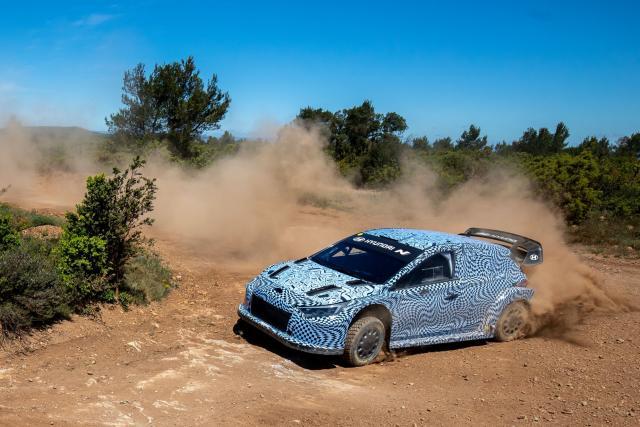 Hyundai dévoile sa WRC 2022 hybride