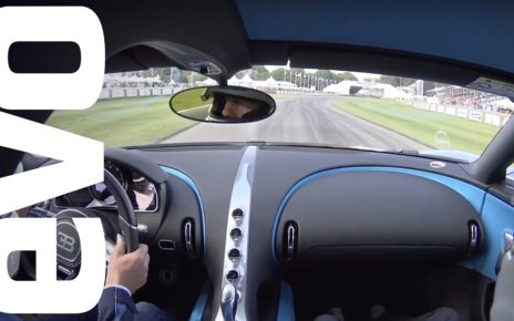 Bugatti Chiron passenger ride at the Goodwood Festival of Speed | evo DIARIES