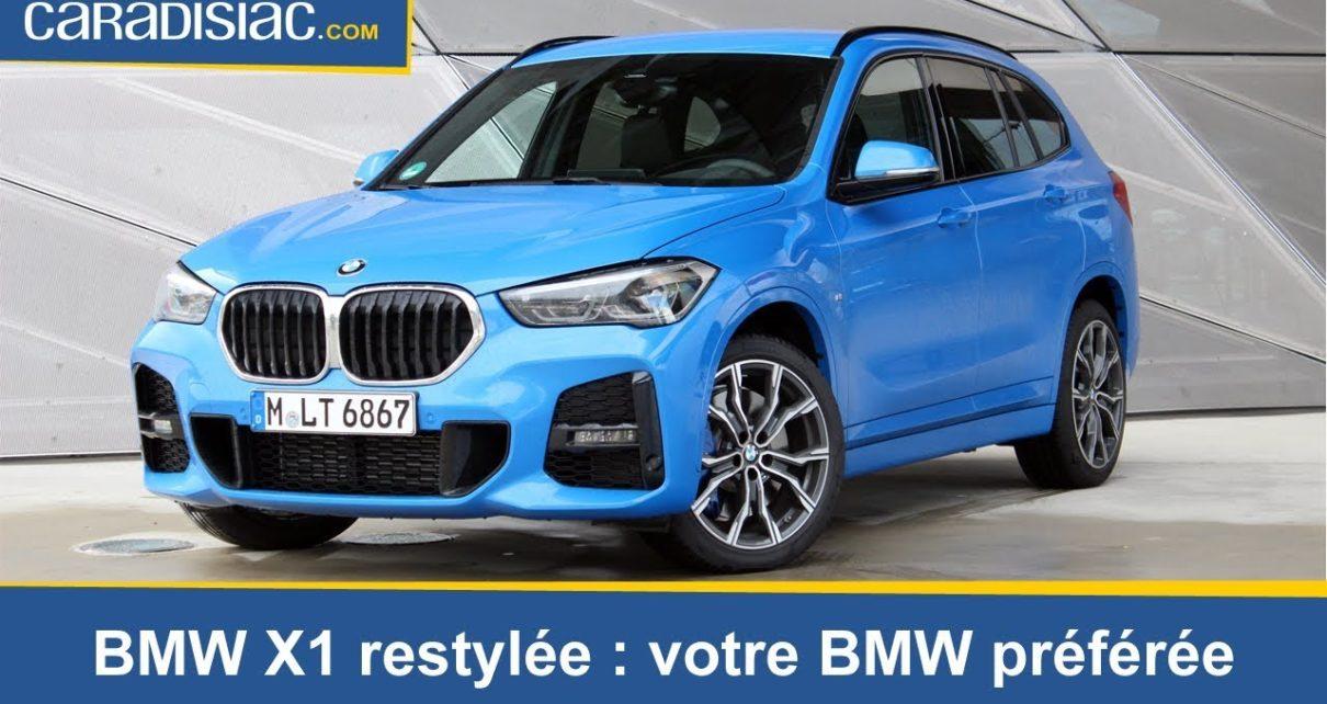 Essai - BMW X1 restylée (2019) : votre BMW préférée