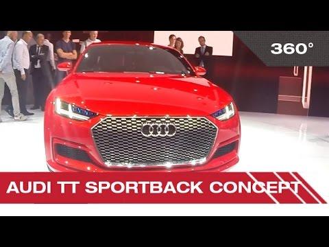 360° Audi TT Sportback concept - Mondial Auto de Paris 2014