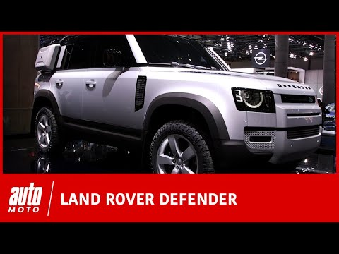 Salon de Francfort : le Land Rover Defender se dévoile enfin