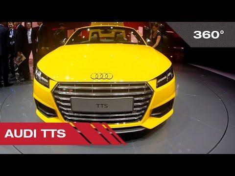360° Audi TTS - Mondial Auto de Paris 2014