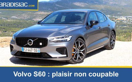Essai - Volvo S60 : plaisir non coupable