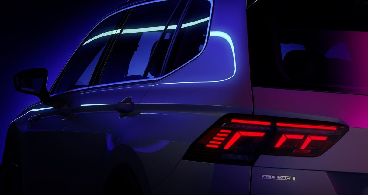 Le Tiguan 7-places restylé présenté le 12 mai 2021