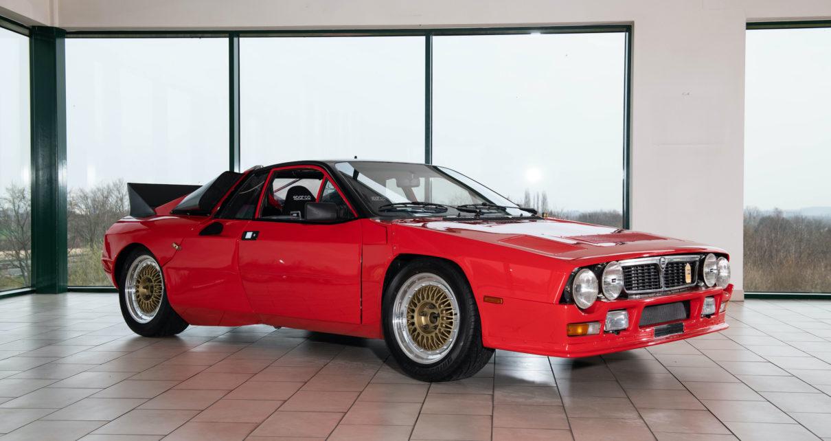Le prototype de la 1ère Lancia Rally Groupe B est à vendre !