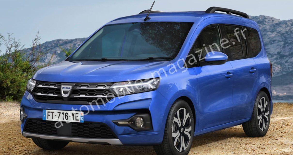Le remplaçant du Dacia Lodgy révélé à la fin de l'été