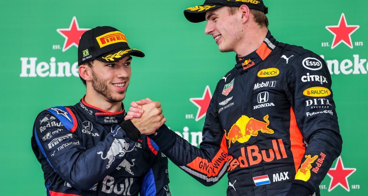 Les pilotes Red Bull et AphaTauri s'associent pour la bonne cause