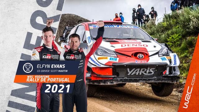 WRC - Portugal 2021 : Evans sourit, Hyundai grimace