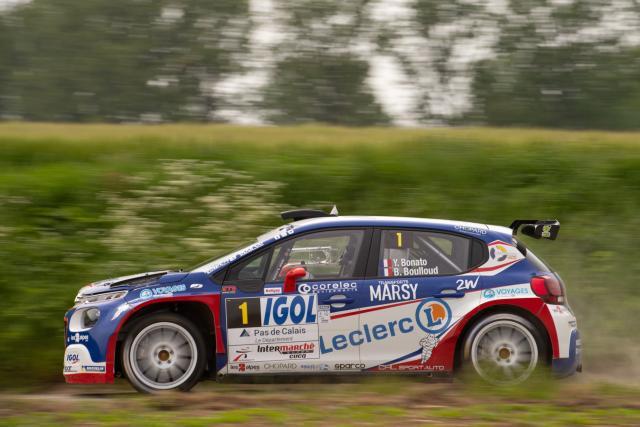 Bonato est resté le patron au rallye du Touquet
