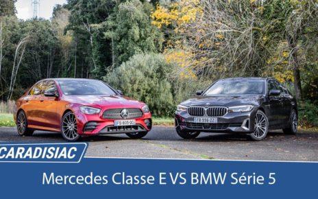 Comparatif - BMW Serie 5 VS MERCEDES Classe E : ennemies de longue date