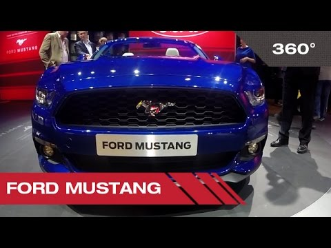 360° Ford Mustang - Mondial Auto de Paris 2014