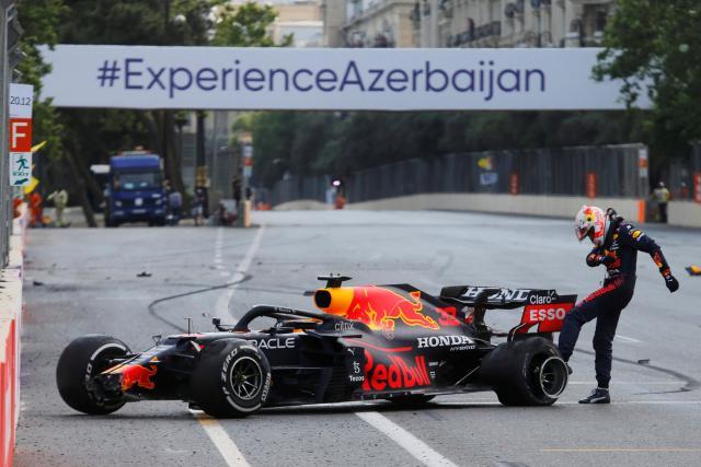 Max Verstappen (Red Bull), après le Grand Prixd'Azerbaïdjan: «C'est une énorme frustration»