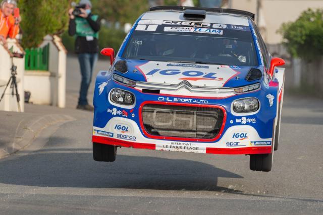 Rallye Vosges Grand-Est : Yoann Bonato confortable leader