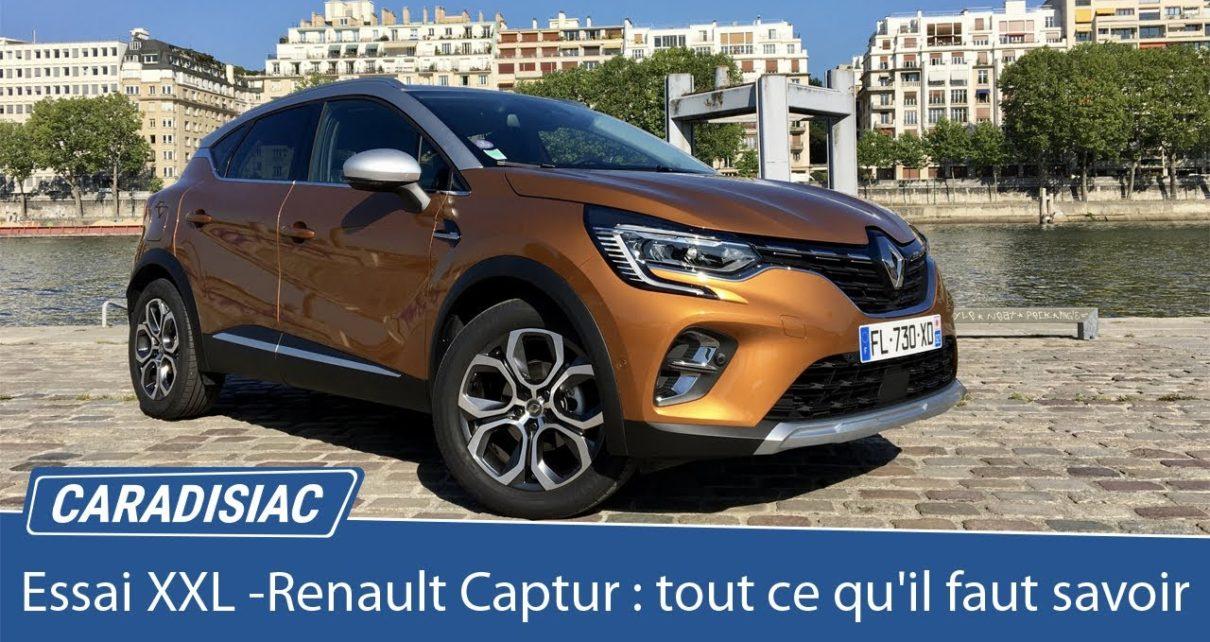 Essai XXL - Renault Captur 2 : tout ce qu'il faut savoir