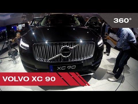 360° Volvo XC 90 - Mondial Auto de Paris 2014