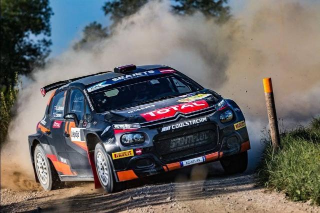 Alexey Lukyanuk domine le premier rallye de la saison d'ERC en Pologne