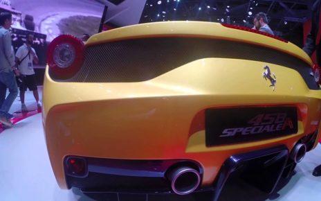 360° Ferrari 458 spéciale A - Mondial Auto de Paris 2014