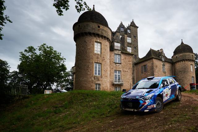 Benjamin Clémençon crée la surprise sur le Rallye Castine - Terre d'Occitanie