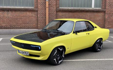 Essai Opel Manta GSE ElektroMod, faire du neuf avec du vieux !