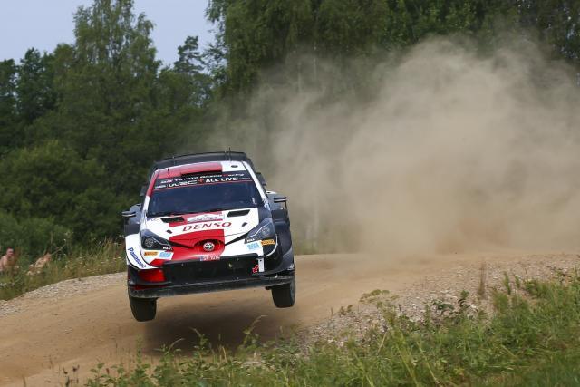 Kalle Rovanperä conclut la matinée en tête du Rallye d'Estonie