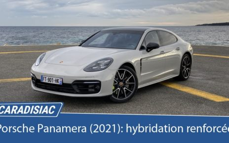 Essai – Porsche Panamera restylée (2021) : hybridation renforcée