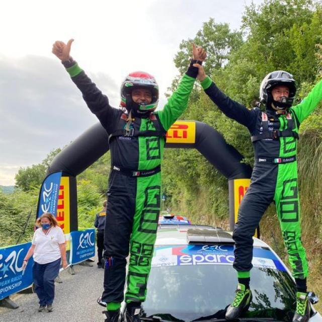 Giandomenico Basso remporte le rallye de Rome loin devant Andreas Mikkelsen et Craig Breen
