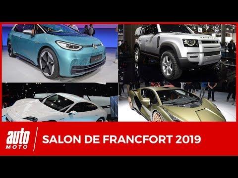 Salon de Francfort 2019 : toutes les nouveautés majeures (l'intégrale)