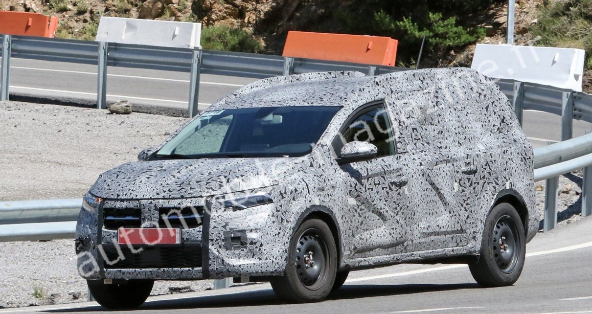 Le futur SUV 7-places Dacia surpris de nouveau