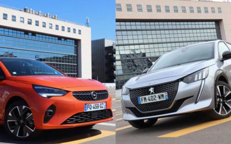 Opel Corsa-e ou Peugeot e-208 : laquelle choisir ?