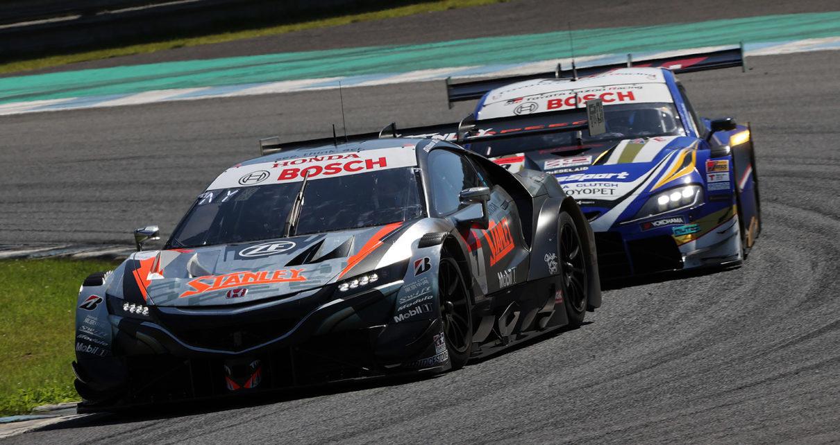 Super GT 2021-4 : Victoire Honda à Motegi