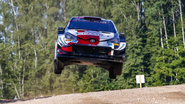 WRC Estonie 2021 : Rovanperä sur les traces de son père