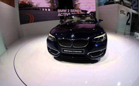 360° BMW série 2 Cabriolet - Mondial Auto de Paris 2014