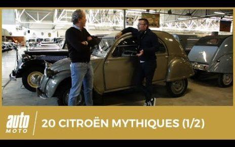 100 ans de Citroën : nos 20 modèles mythiques (1/2)
