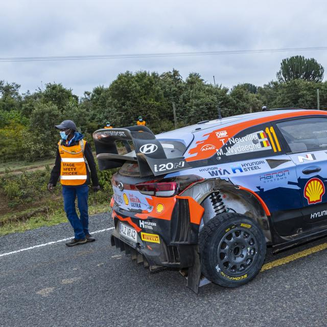Thierry Neuville teste la Hyundai i20 Rally1 Hybrid dans les Vosges