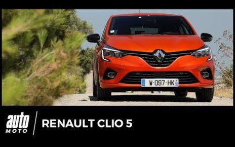 Essai Renault Clio 5 : notre avis au volant de la nouvelle citadine française