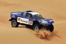 Africa Eco Race - Etape 7 : Impitoyable Mauritanie !