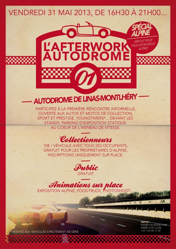 Paris Auto Events invente les afterworks version Montlhéry
