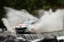 ERC - Açores : Les équipages Peugeot dans des conditions dantesques