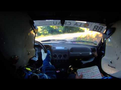 Rallye de la Crau 2013 ES3 Marchand/Andrau