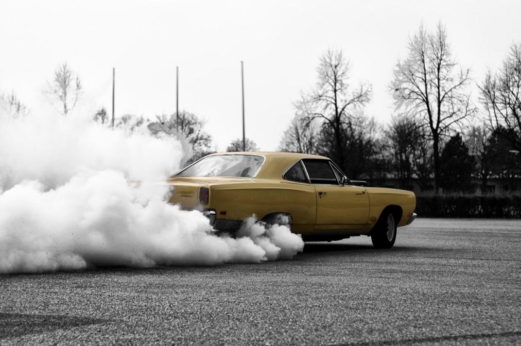 Muscle Car burnout