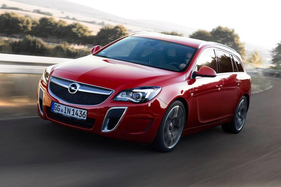 «Nouvelle» Opel Insignia OPC Sport Tourer