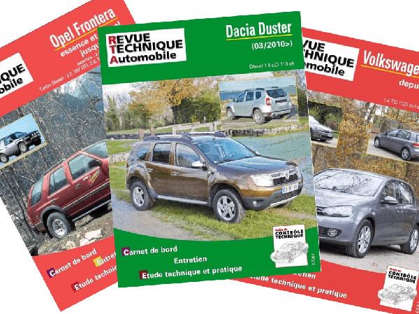 La collection de livres sur l'histoire de l'automobile