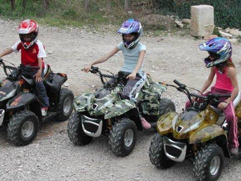 Le quad pour les enfants