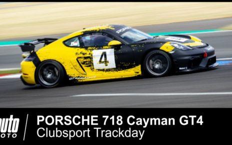 Porsche 718 Cayman GT4 CLUBSPORT onboard POV Jörg Bergmeister