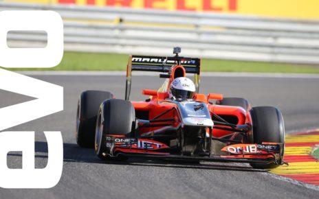 F1 dream drive at Spa   evo Motorsport Icons