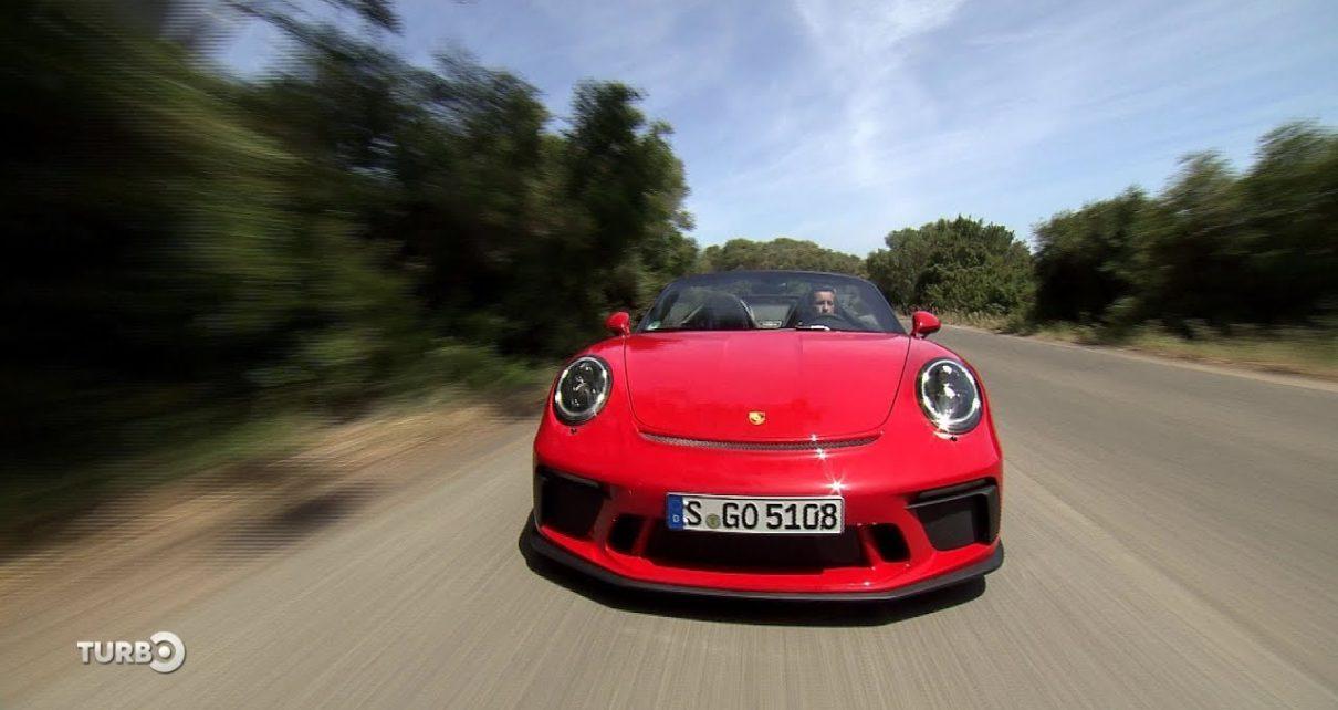 Essai de la Porsche 911 Speedster - Extrait TURBO du 26/05/2019