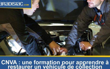 CNVA : apprenez à restaurer votre voiture de collection