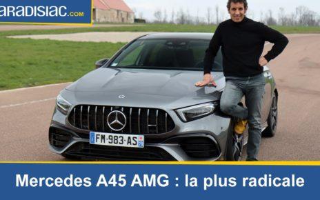 Les essais de Soheil Ayari : Mercedes A45 S AMG